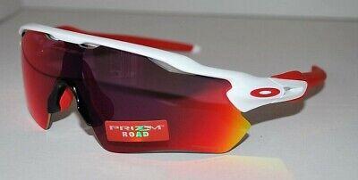 Oakley Radar Ev Sendero Prizm Senda Gafas de Sol OO9208-05 Blanco Pulido...