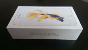 iPhone 6S Plus Gold 16GB Brand New in Box 1 Year Apple Warranty
