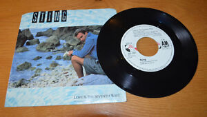 Vintage 45: STING: Love is The Seventh Wave: Special Version