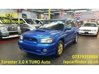 2005 Subaru Forester 2.0 X TURO Automatic SUV Petrol Automatic