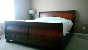 King sleigh bed MUST SELL