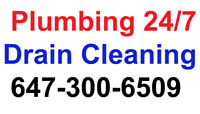 Drain Cleaning Same Day Service ☎️ 647-300-6509