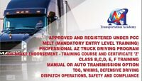 Ministry approved Air Brake training 905-754-0578