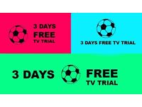 FREE SPORT - 3 DAYS UNIQUE IVIEW HD TV