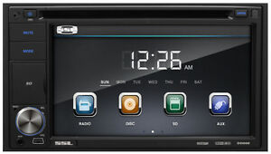 """Car DVD Player - 6.2"""" Touchscreen LCD - Double DIN"""
