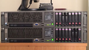 HP DL380 G5 - 2 Xeon Quad 2.33Ghz - 16 RAM - 2 PSU and more !