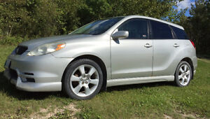 2003 Toyota Matrix XRS Hatchback