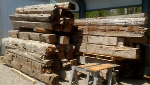 Toronto Histroic Timbers Bulk Sale - Old growth Ontario Woods.
