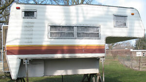 Truck camper for 8 foot pickup box Kitchener / Waterloo Kitchener Area image 2