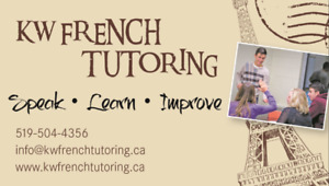 Back to school French Tutoring!