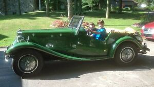 MG TD 1952 (MiGi II kit car) British Racing Green