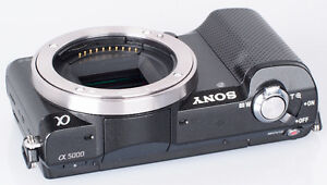 Sony A5000 mirrorless camera body only