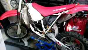 Wanted Cr80 or Cr85  parts or parts bike