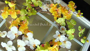 Spring Orchid Wreath/Fuchsia/Yellow Orchid/Spring Wreath Belleville Belleville Area image 5