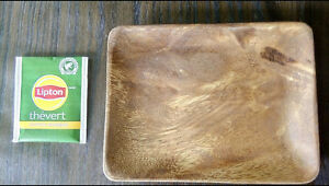 Imported Wooden Plate (SMALL) - WP2