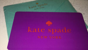 Kate spade gift card $250 for $265 value
