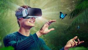 Samsung Gear VR 360-degree 3D worlds