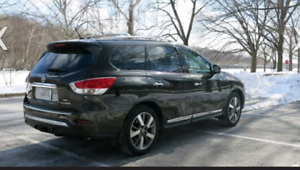 2015 Nissan Pathfinder SL Navi/rear cam/7 seater/no accidents