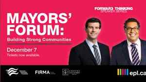2 tickets for sold out mayor's forum