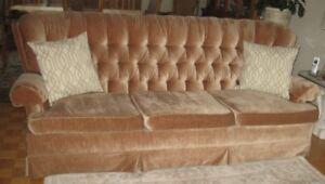 Sofa et fauteuil de qualité Sklar Peppler