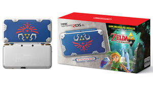 New 2DS XL Hylian Shield Edition with Majora's Mask 3D $190