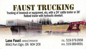 Trucking Available