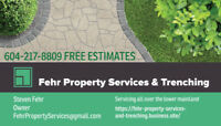 FEHR PROPERTY SERVICES AND TRENCHING