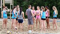 FREE Beach Volleyball Clinic/Games (grades 5-10) - Elite Coaches