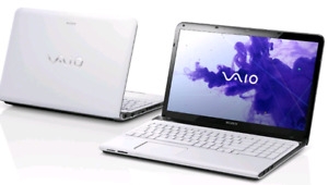 *Superfast and Powerful* WHITE Sony Vaio Laptop