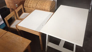 kids' tables (2) and chairs (2) set