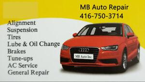 Automotive Service and Car Detailing in Scarborough Open Mon-Sat