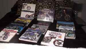 Harley Motorcycle Books Collection