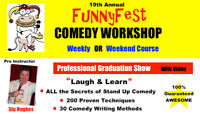 Stand Up Comedy WORKSHOP, Comedy Writing & Public Speaking