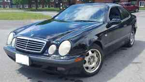 1999 Mercedes-Benz CLK-Class black Coupe (2 door)