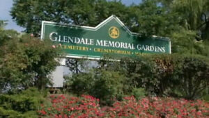 Two Burial Plots Available at Glendale Memorial Gardens  $5,500