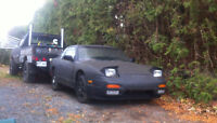 240sx s13 front end conversion, 300zx seats and extra