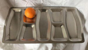 Mid Century Modern (MCM) - Viners large appitizer serving tray