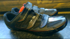 Specialized body Geometry biking boots vgc size 9,10 Can deliverPost