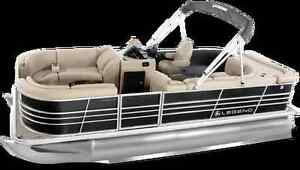 Full line of Legend Pontoon Boats