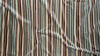 GP&J BAKER Atlantic Velvet Stripe Cotton England New