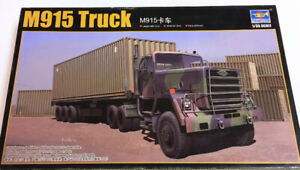 Trumpeter 1/35 M915 Truck with trailer
