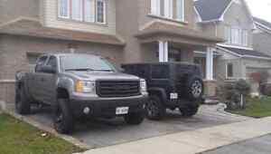 2007 gmc sierra sle z71 5.3L nbs lifted 33 inch tires