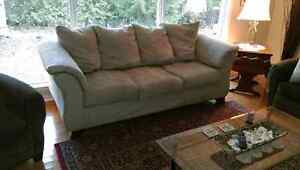 Microfiber Sofa London Ontario image 1
