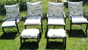 patio chairs (drop by make fair offer today Sunday )
