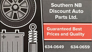 SOUTHERN NB DISCOUNT AUTO PARTS LTD.