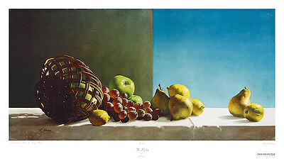 Al Proom The Basket Poster Kunstdruck Bild 46x81cm