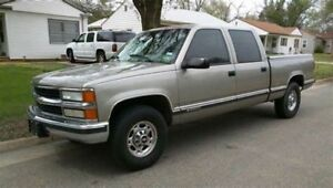 Cash in hand for 1996-2000 Chev/GMC Crew Cab 4x4