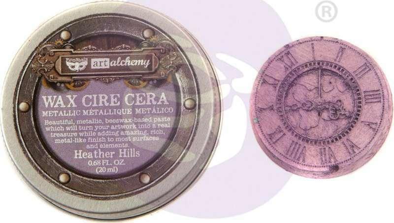 Finnabair Art Alchemy Metallique Wax .68 Fluid Ounce Heather Hill 655350966737