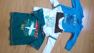 3 shirts for approx 18-24 months