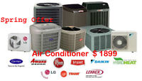Summer Special: Air Conditioning only $1875